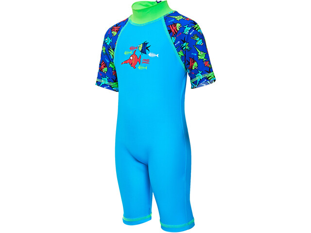 Zoggs Sea Saw Sun Protection Suit Gutter blue